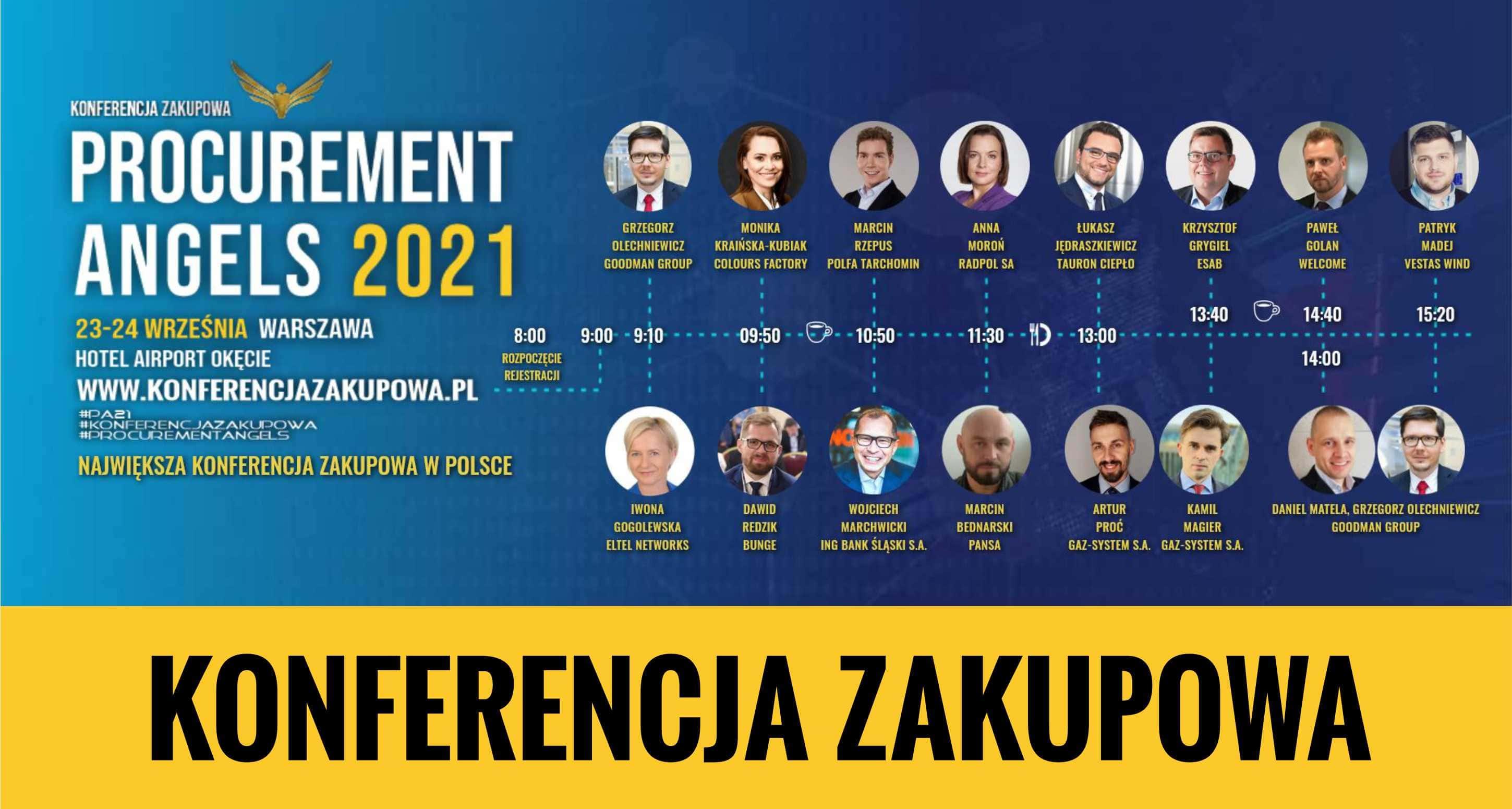 konferencja zakupowa, forum zakupów, procurement conference