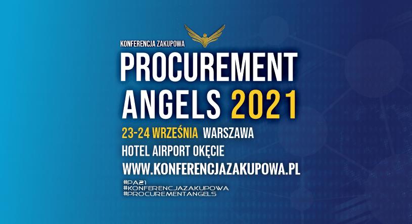 konferencja zakupowa forum zakupow 2021 procurement angels procurement conference warszawa poland